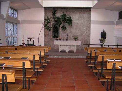 Die Kapelle im Seniorenheim St. Rita