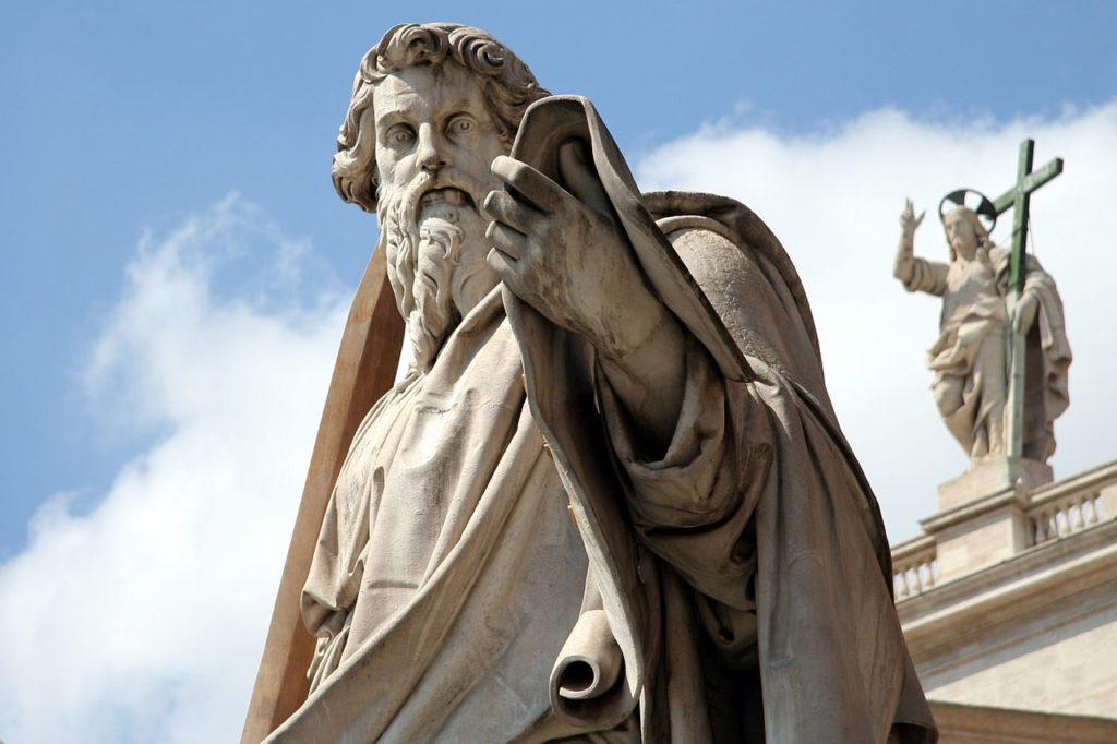 Statue des Hl. Paulus im Vatikan