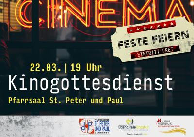 Kinogottesdienst am 22.03.2019, 19.00 St. Peter und Paul Landshut