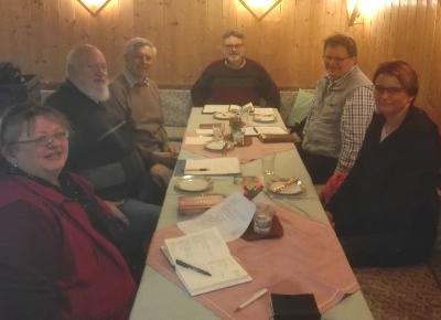 Das Ökumene-Team im März 2020